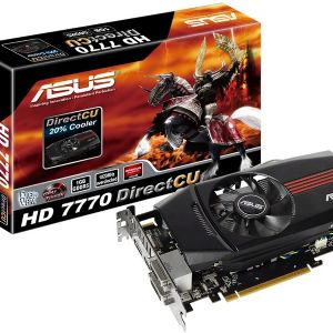 ASUS HD7770 DIRECTCU V2 1GB 128B 16X DDR5 2DVI+HDMI+DP