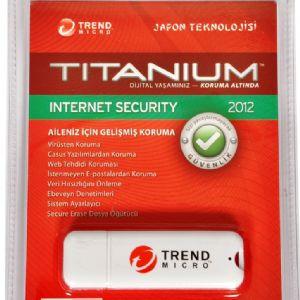 TRENDMICRO TITANIUM INT.SEC 2012 1 KULL. / 8GB USB