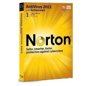 NORTON ANTİVİRÜS 2012 1 KULLANICI