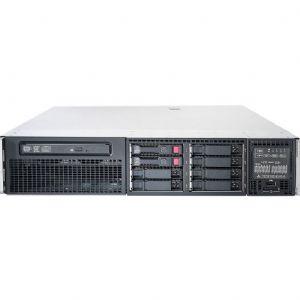 HP SRV 470065-656 DL380p GEN8 E5-2609 8GB REGISTERED 2x300GB SAS SFF 2.5 HOT PLUG P420i/512MB FBWC DVDRW 460W