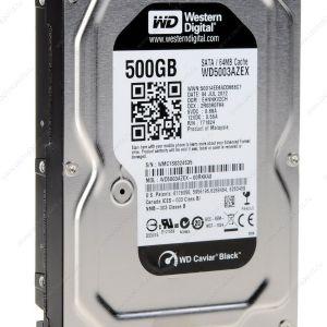 500GB WD 3.5 7200RPM 64MB SATA3 WD5003AZEX BLACK