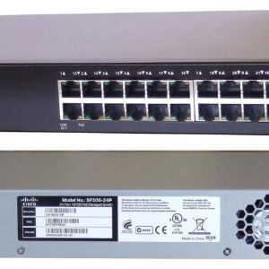 CISCO SLM224PT-EU 24 PORT 10/100 PoE SMART SWITCH (SF 200-24P)