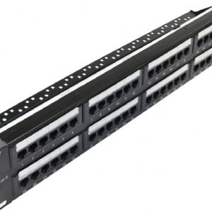 LADOX LD-6348-6U 48PORT UTP C6 PATCH PANEL BRACKET