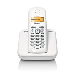 GIGASET AS180 DECT TELEFON BEYAZ