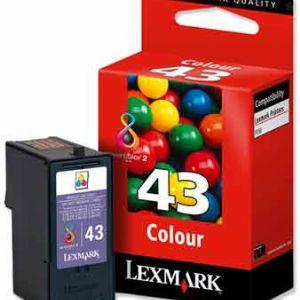 LEXMARK NO:43 18Y0143E X9350 RENKLI KARTUS